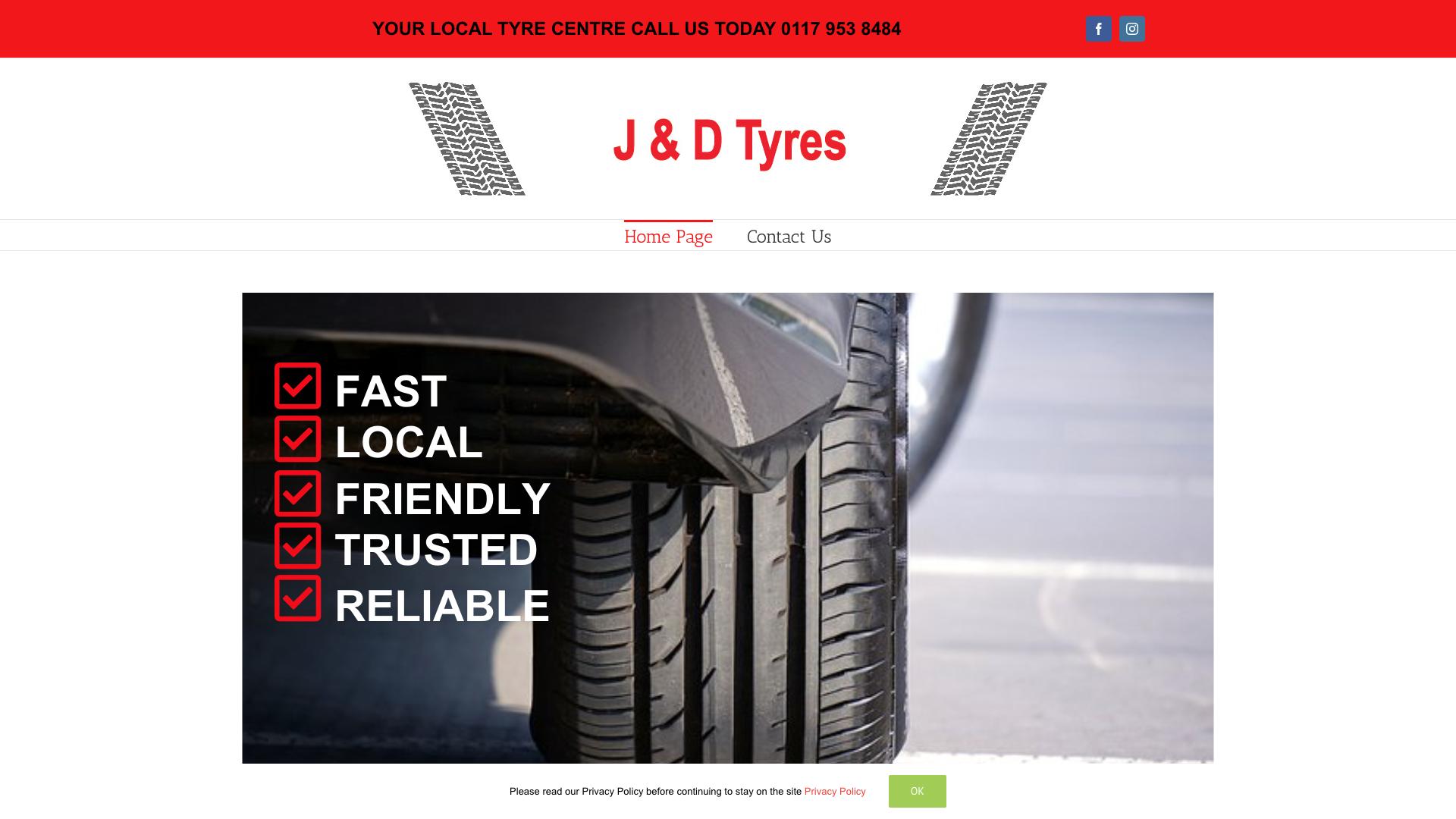 J&D Tyres