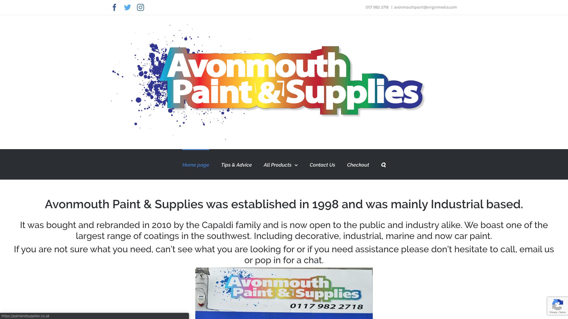 avonmouth paint