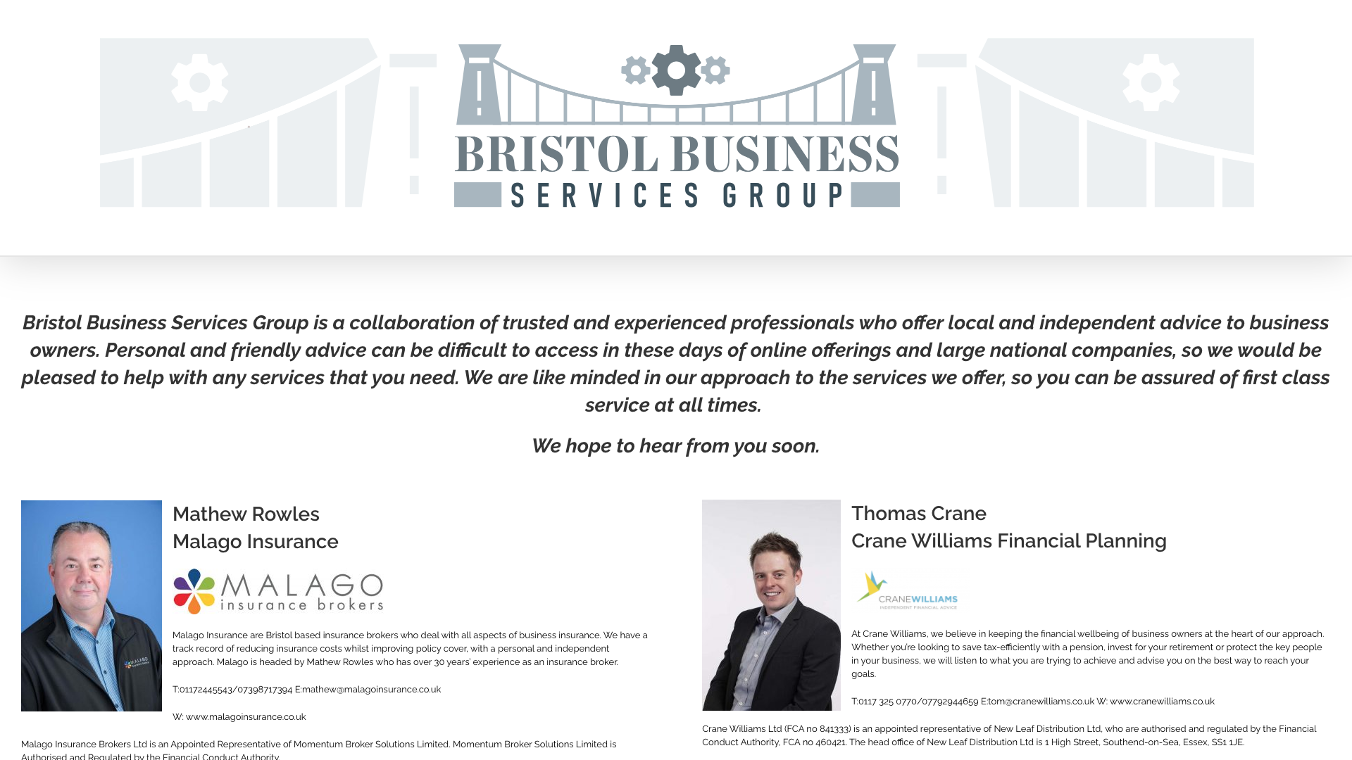 Bristol Services Group