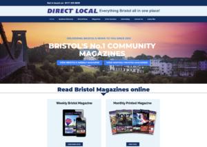 website design - Direct Local Bristol